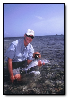 """Pancake Paradise"" by Mark B. Hatter from the 2003 April/May issue of Fly Fishing in Salt Water Magazine"