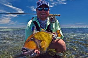 Triggerfish offer a flats fishing challange on Farquhar