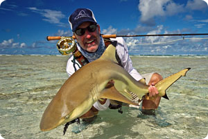 Don't under estimate these Sharks.  They're fast, powerful, and fun on a fly, especially on a skinney flat.