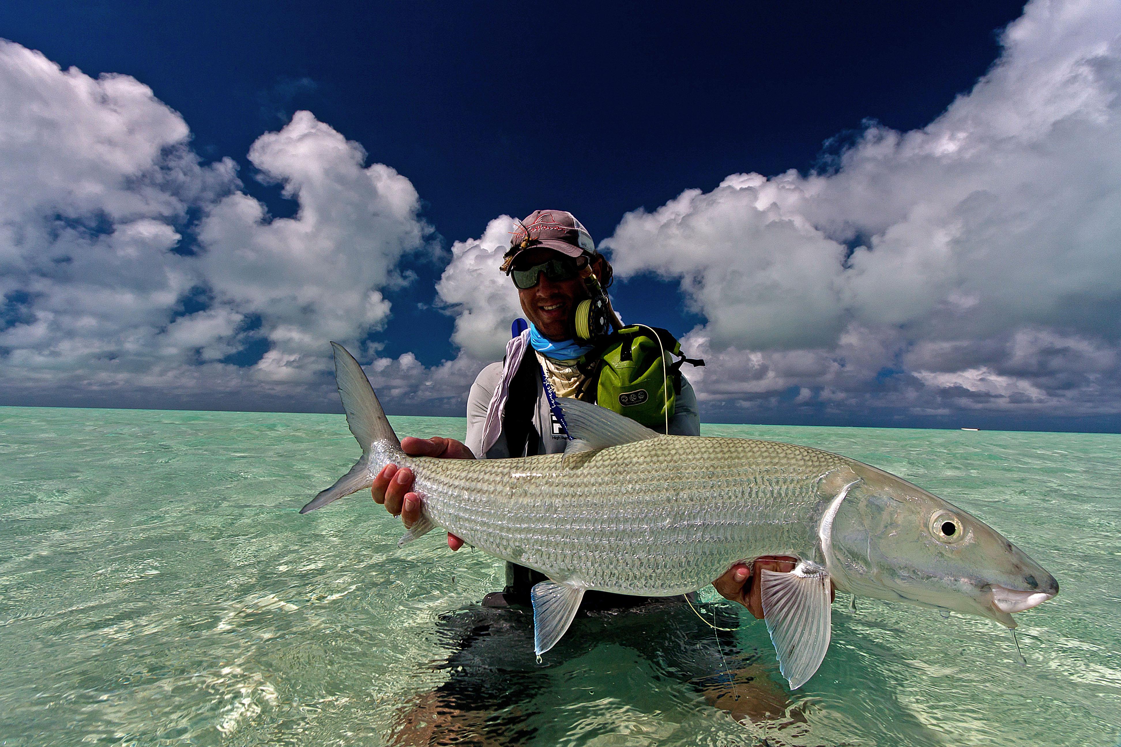 Nice Bonefish from St. Brandon's Atoll
