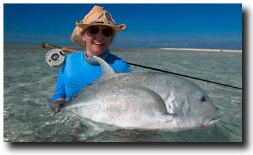 Giant Trevally St. Brandon's Atoll Mauritius Courtesy of FlyCastaway