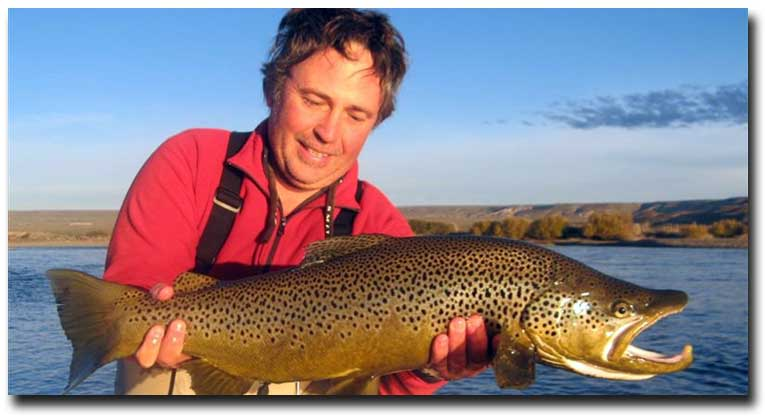 Trout Fishing Private Water on Argentina's Premier Estancias with Alberto Cordero of Fly Fishing Andes