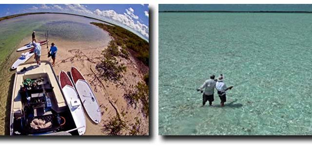 Beyond the Blue Bonefishing in South Caicos Island, Turks and Caicos offers a hidden hot spot for bonefishing