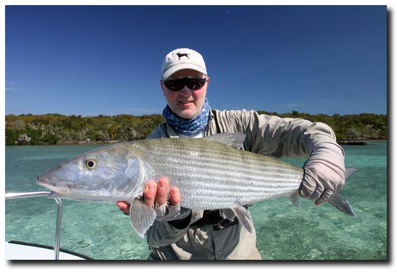 Cold Weather = Hot Fishing at Grand Bahama: #2 Simram Fools 14 Pound Bonefish