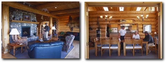 Luxury Alaska Accommodations at Crystal Creek Lodge