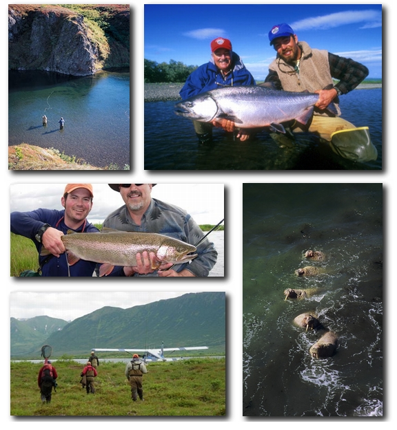 Trophy Rainbow Trout and Luxury Accommodations at Crystal Creek Lodge