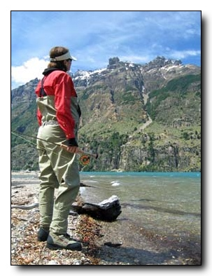 Chilean Patagonia River View at Cinco Rios Lodge