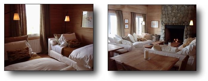 Toon Ken Lodge Bedroom and Common Area