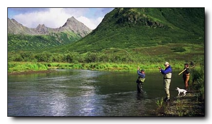 World Class Rainbow Trout Fishing at Crystal Creek Lodge