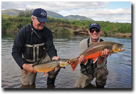 Mission Lodge Char caught by Mark Winkelman and Bill Sahlman
