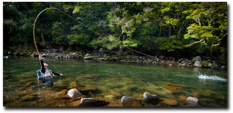 Awesome Spring Trout Fishing in New Zealand in 2012: The best fishing, best lodges, and best experience