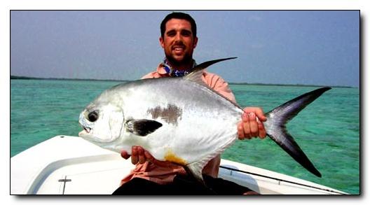 Nice Permit - Rickmon Bonefish Lodge, Abaco, Bahamas