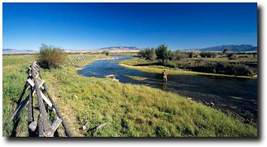 Southwest Montana: Trout Fishing, Travel Credit, Private Water & Getting the Band Back Together