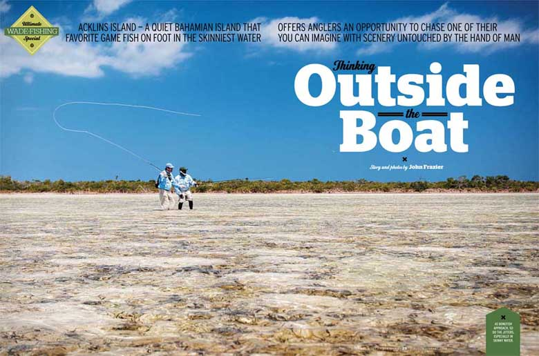 Thinking Outside the Boat: Wading for Bonefish in Bahamas on the Flats