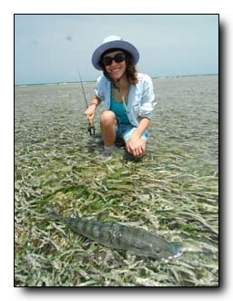 Belize Bonefish Release (photo by Pablo Negri)