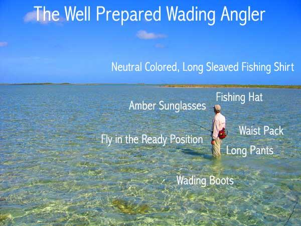 Wading Guide: Wading for Bonefish