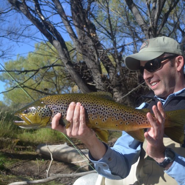 Malleo River Argentina Brown Trout Fly Fishing Andes Angler Adventures