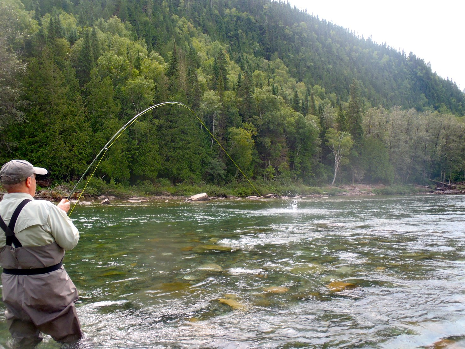 Quebec Club fish on - angler adventures
