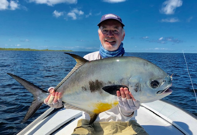 Belize Permit Turneffe Flats Lodge Angler Adventures